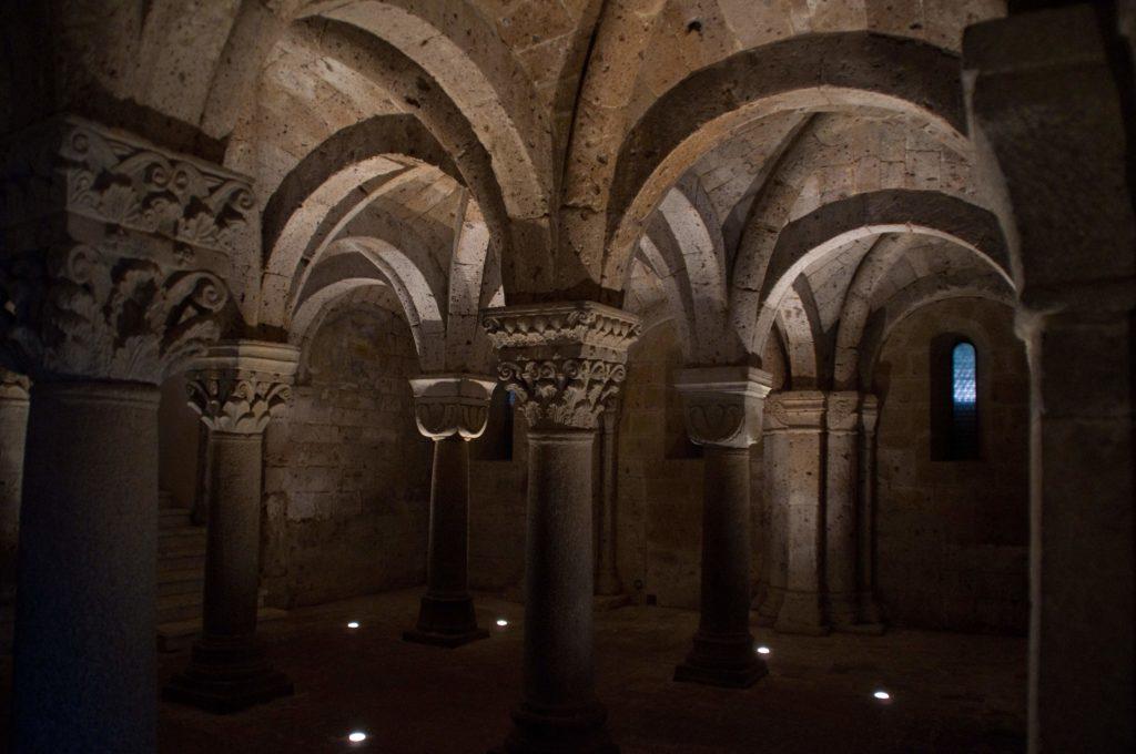 Cripta della Basilica del Santo Sepolcro, Acquapendente