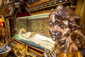 Il corpo di Santa Rosa a Viterbo